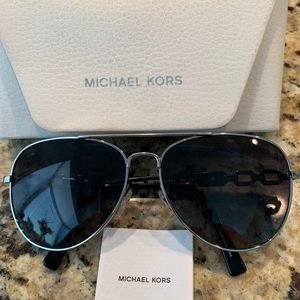 Michael Kors aviator polarized sunglasses